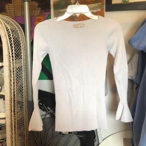 white michael khors sweater
